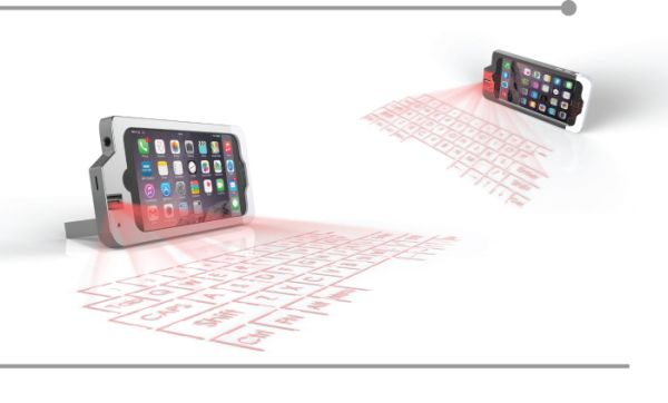 iphone projected keyboard