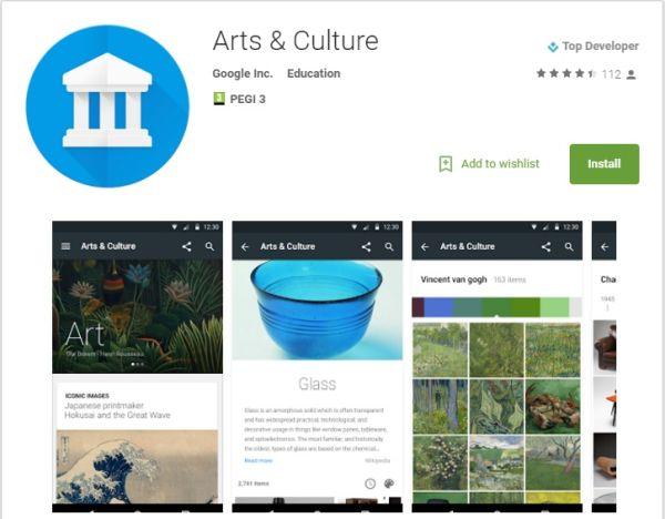 Google Arts AND Culture app (1)