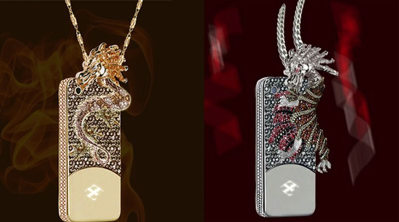 Dragon & Spider's diamond casing