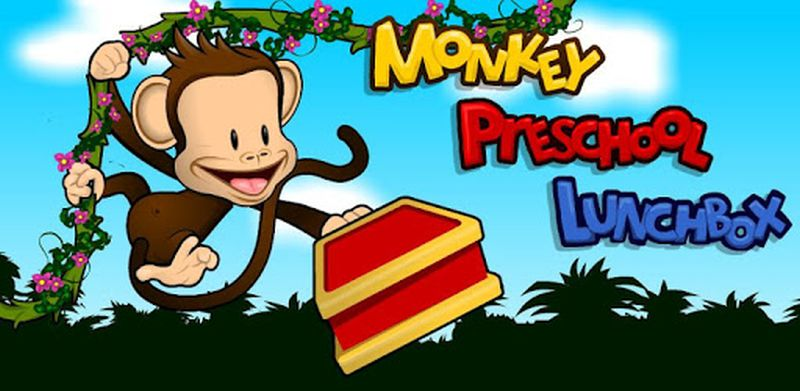 Monkey Preschool Lunchbox