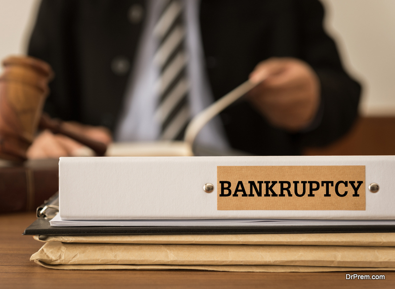 Get a bankruptcy attorney