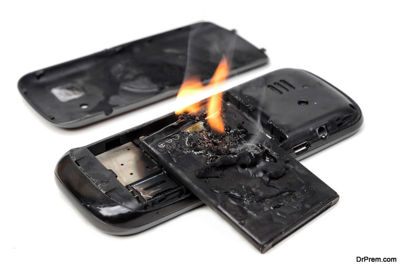 cell phones explode