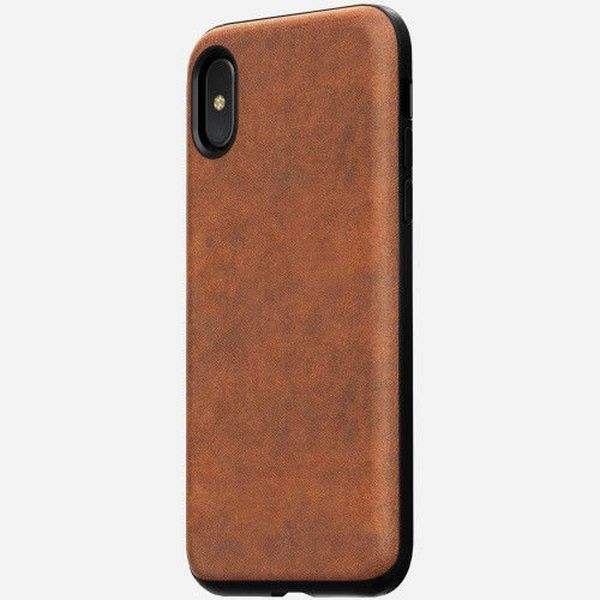 Nomad leather iPhone case