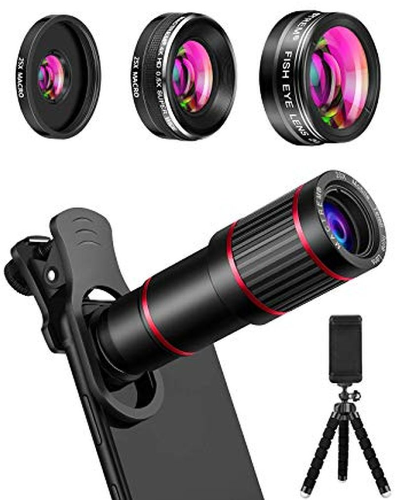 MACTREM Phone Camera Lens Phone Lens Kit
