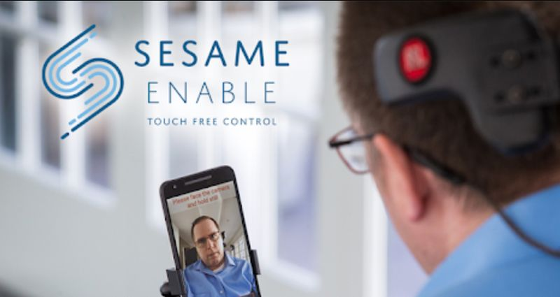 Open Sesame- touch-free access