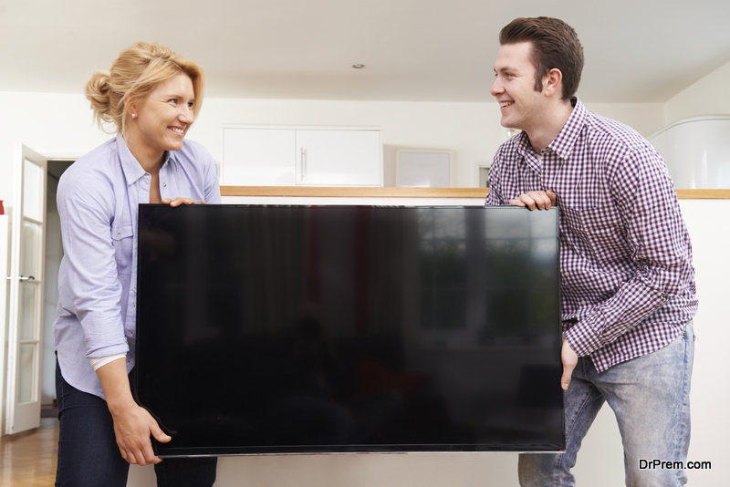 tv on lease